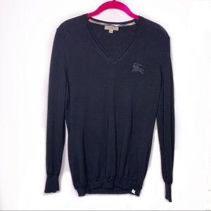 BURBERRY | Black Merino Wool Sweater